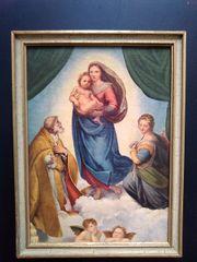 Heiligenbild Sixtinische Madonna