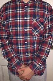 Holzfäller Hemd L
