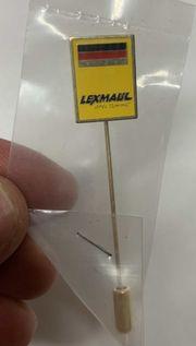 Anstecknadel der Firma LEXMAUL 1