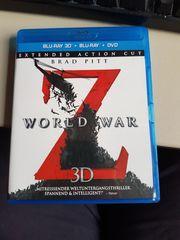World War Z 3D Blu-ray -