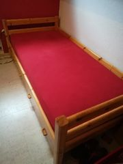 Kinderbett gross 1x2 m mit