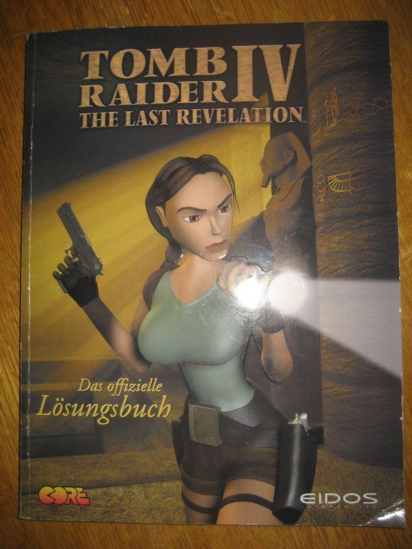 Tomb Raider 4 Lösungsbuch Zubehör -