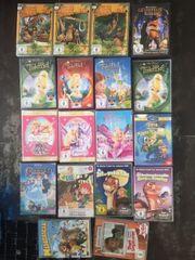 verkaufe 18 DVDs für Mädchen