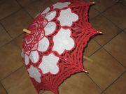 Sonnenschirm Deko Burlesque Fasching