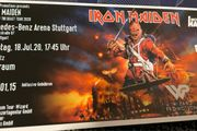 1-4x Stehplatz Iron Maiden in