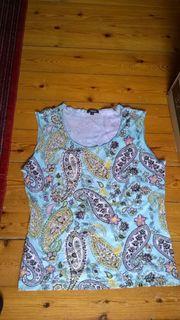 Boho Paisley Pailetten Shirt Nuevo