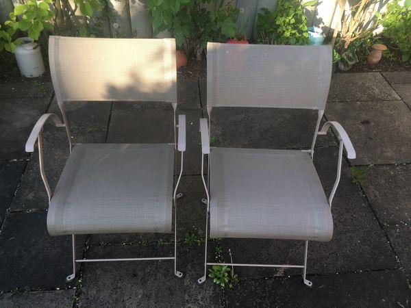 Fermob Dune Stuhl Mit Armlehne Gartenstühle Gebraucht In