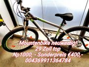 Mountainbike Neuwertig