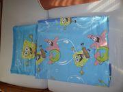 Flanell Kinderbettwäsche SpongeBob Schwammkopf