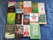 Bücher 14 Stück abzugeben