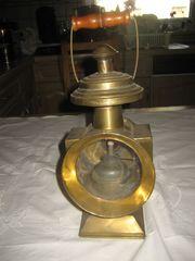Petroleumlampe aus Messing Messinglampe Leuchte