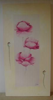 Kunstdruck - Mohnblüten