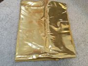Goldener Metallic Stretch Lycra