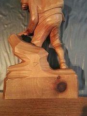 Holzfigur Jäger