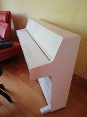 Verkaufe weißes Piano Klavier Kurzweil