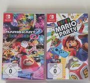 Mario kart und Mario Party