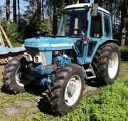 Traktor mit Allrad