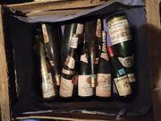 Wein alte Flaschen