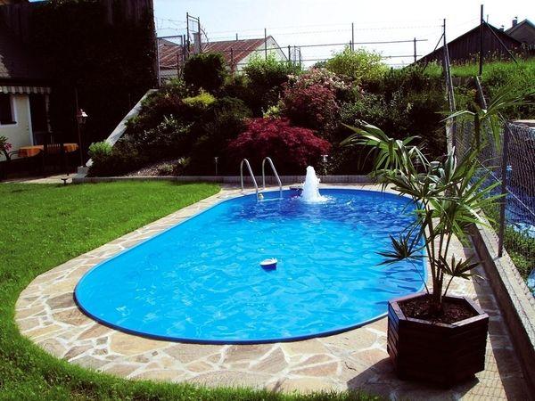 Pool oval z b 490x300x120cm stahlwandpool stahlwandbecken for Ovaler pool garten