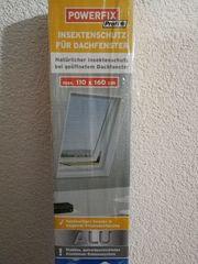 Insektenschutz Fliegengitter für Dachfenster max