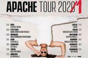 2x Apache Tourtickets MANNHEIM