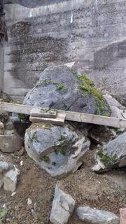 Findlinge Felsen verschiedene Größen