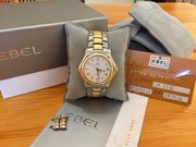 Ebel 1911 Automatic Stahl Gold