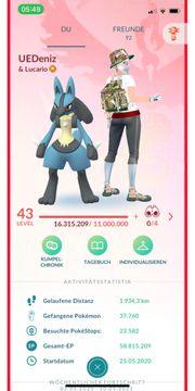 Pokémon Go - PTC - lvl 43
