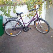 2 Fahrräder Herren- und Damenfahrrad