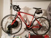 Specialized Roubaix SL3 rot Rennrad