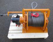 Seilwinde hydraulisch Unimog Rotzler Ladekran