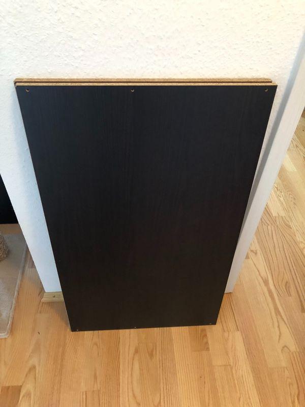 Ikea Pax Rückwand 2 x ikea pax 100 cm boden schwarzbraun inkl befestigung in bruchsal
