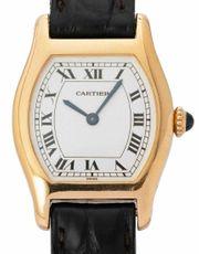 Cartier Tortue 96067 Gelbgold Handaufzug