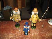 3 Räuchermännchen davon 2x original