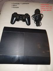 Ps3 mit Controller und Spielen