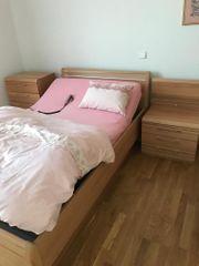 Hochwertiges Schlafzimmer Kernbuche mit vollautomatischem