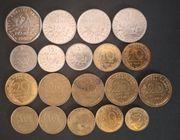 Konvolut 19 Alte Münzen Frankreich