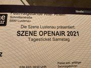 Szene Openair Ticket Samstag