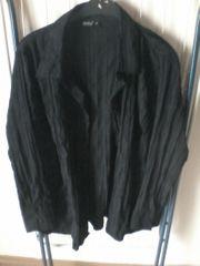 Bluse - Damen - langarm - OKAY - Gr 46 - schwarz