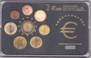 Euro Gedenkmünzensätze Slowenien und Luxemburg