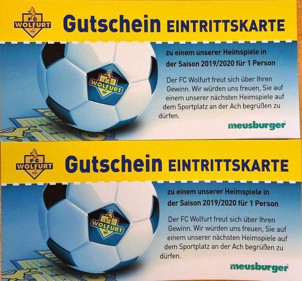 2 Eintrittskarten FC Wolfurt