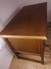 Schreibtisch aus Massivholz zu verkaufen