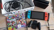 Nintendo Switch Konsole Neon-Rot Neon-Blau