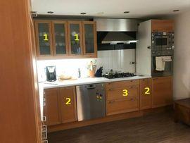 Küchenzeilen, Anbauküchen - IKEA Faktum Unter- und Oberschränke
