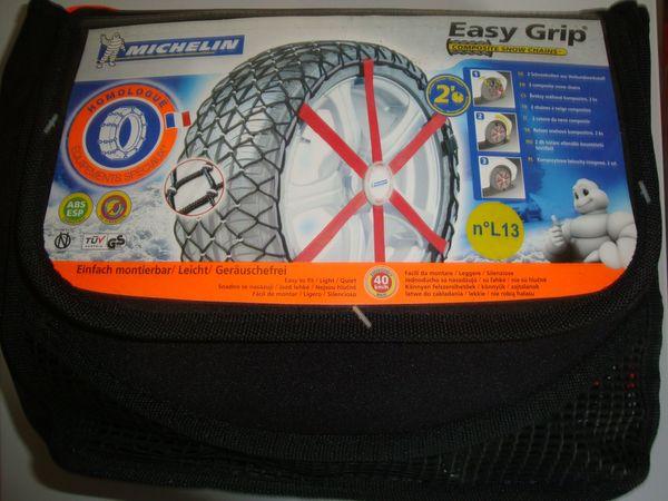 Schneeketten aus Verbundwerkstoff EASY-GRIP von