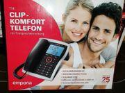 Emporia Telefon analog schnurgebunden T14