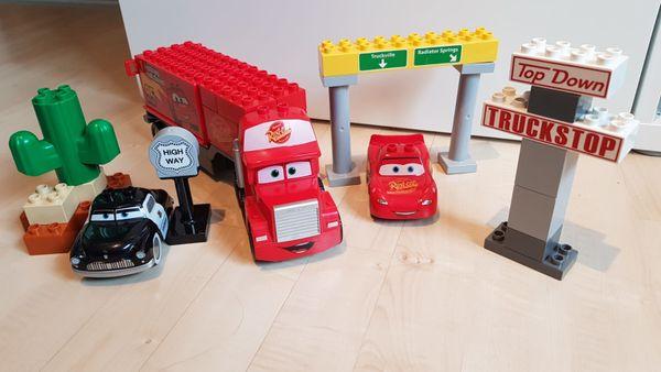 Lego duplo Mack auf große
