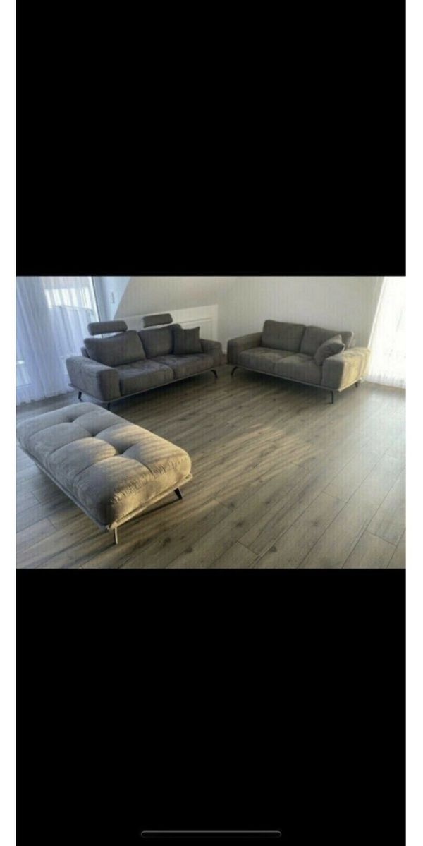 Sofa Couch 3tlg