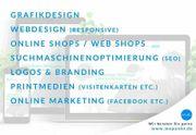 Grafikdesign Webdesign SEO Online Marketing