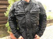 Motorradjacke Textil Leder Polo